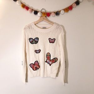 Sweaters - NWT Jamison Butterfly Sweater